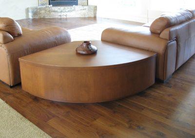 2017 Ward radius coffee table