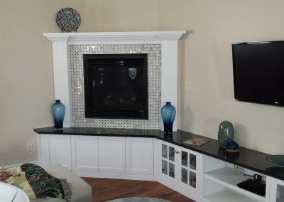 Fireplace-corner